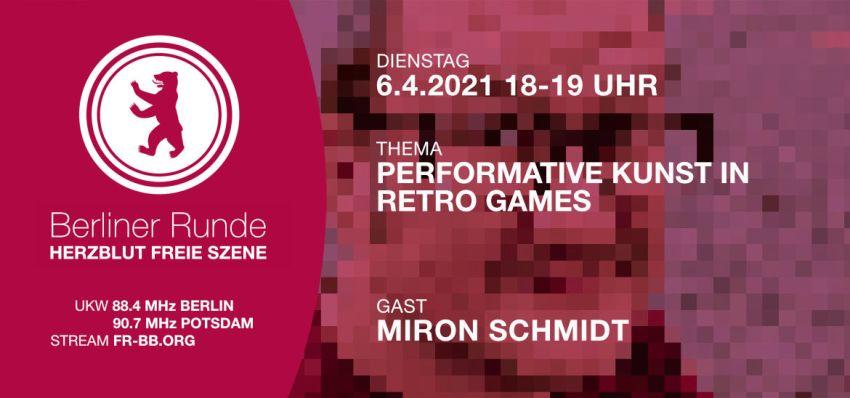 Performative Kunst in Retro Games - Herzblut Freie Szene 46 mit Miron Schmidt