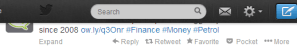 Financial advice from Twitter