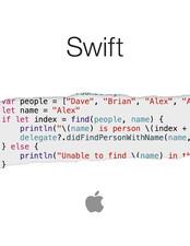 Swift new programming language
