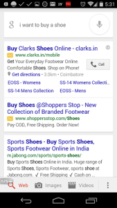 Mobile Conversational Search
