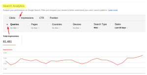 Voice Search Analytics research