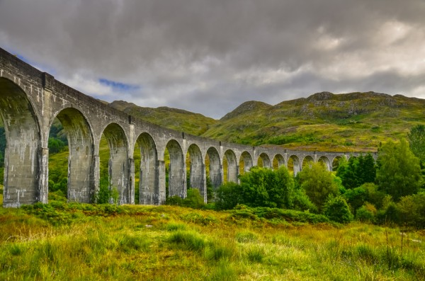 Glenfinnan Viaduct.