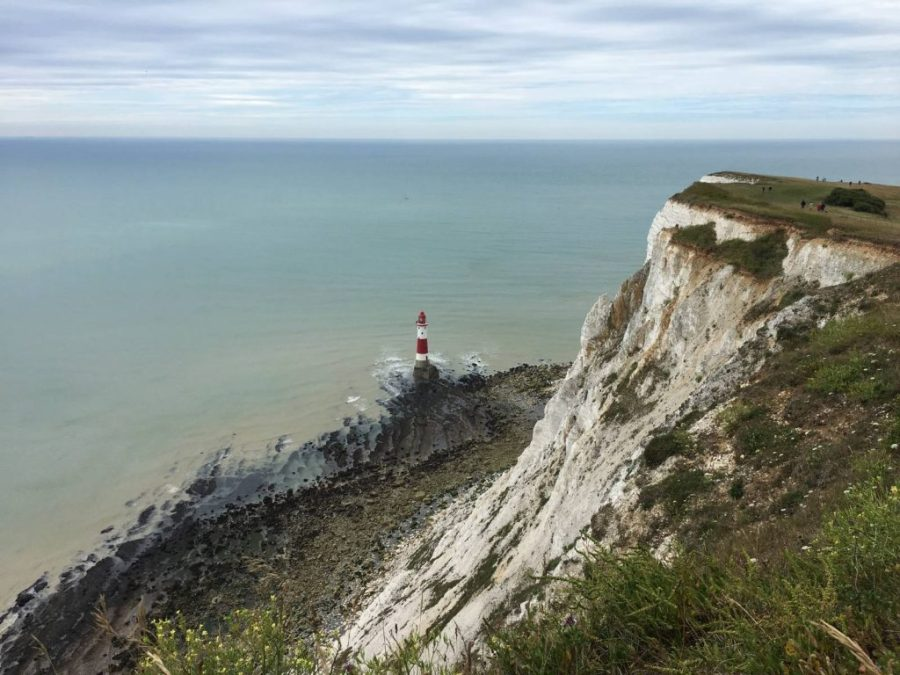 Dramatic coastal scenery on the South Downs Way