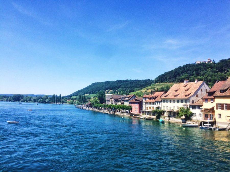 Stein am Rhein on Lake Constance