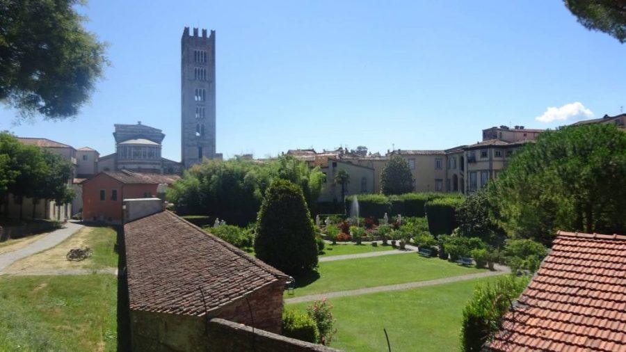 Gardens in Lucca