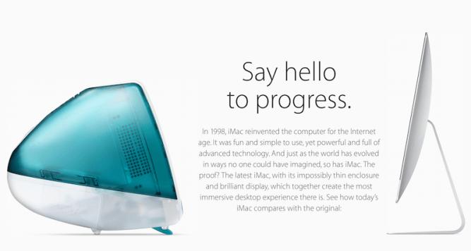 say hello to progress