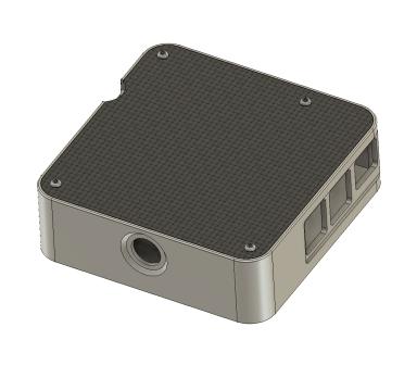 MACSBOOST McPi Racing Carbon Fiber Aluminum Raspberry Pi Case