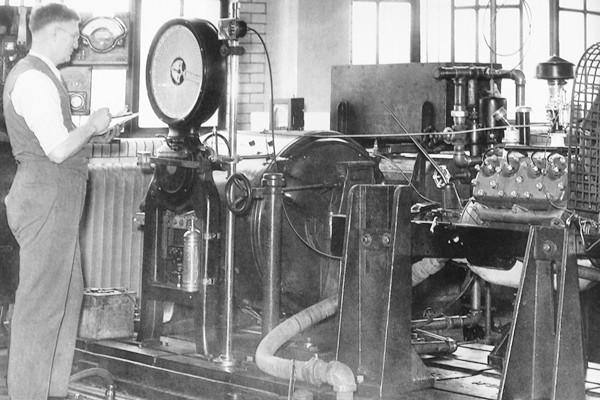 1932 Ford dyno test