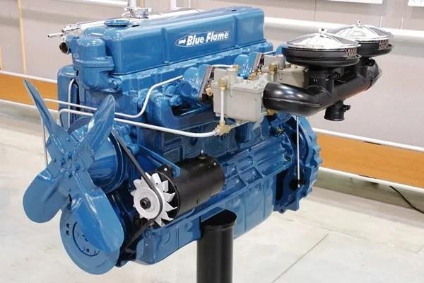 1954 Corvette Blue Flame 235 CID Six