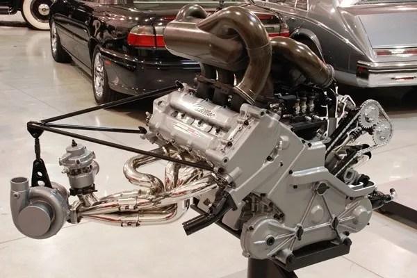 Cadillac LeMans Turbo V8 cutaway