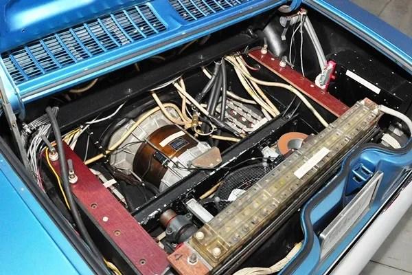 GM Electrovair II electric motor