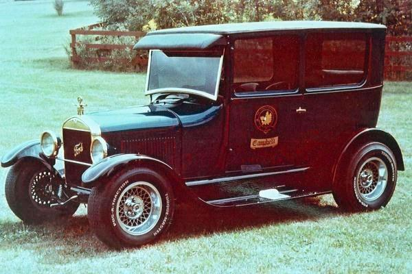 1974 Don Campbell 1927 Ford T Sedan Tartan T