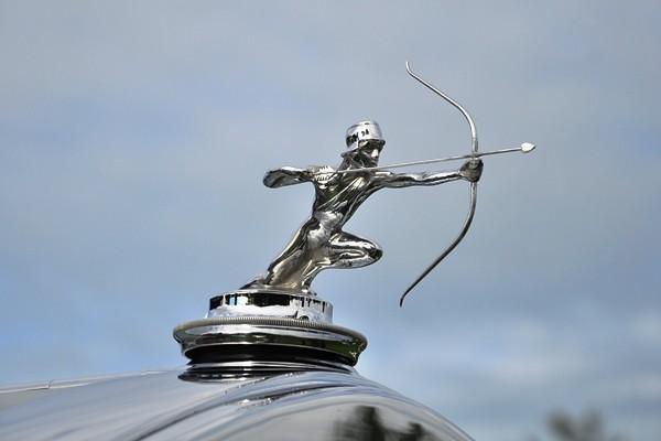 1929 Pierce-Arrow Model 143 Roadster Robert and Betty Reenders archer