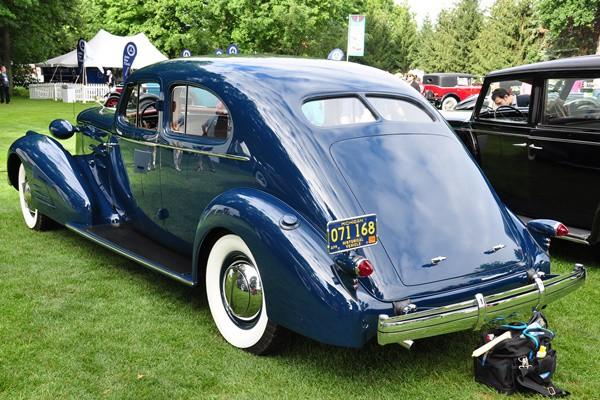 1933 Cadillac Aerodynamic Coupe Bill and Barbara Parfet