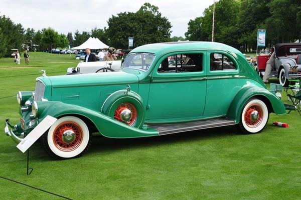 1934 Pierce-Arrow Silver Arrow Coupe Gordon Linkletter LF