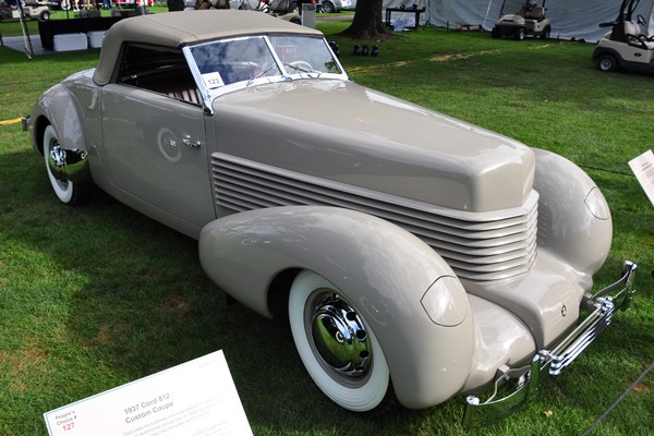 1938 Cord Cabriolet prototype Alvin Sikora