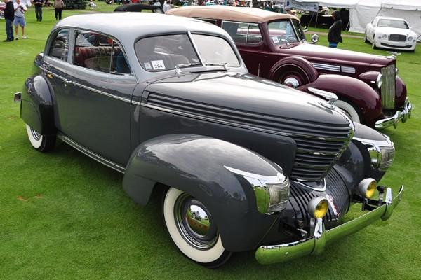 1939 Graham Model 96 Sharknose Coupe Diedre and Walt Bender