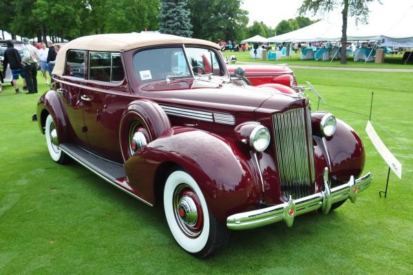 1939 Packard 120 Convertible Sedan Colin Rockefeller