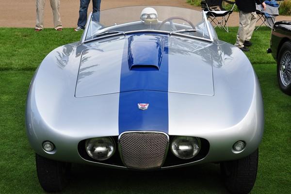 1954 Arnolt Bristol Bolide Bertone Stanley Cryz front