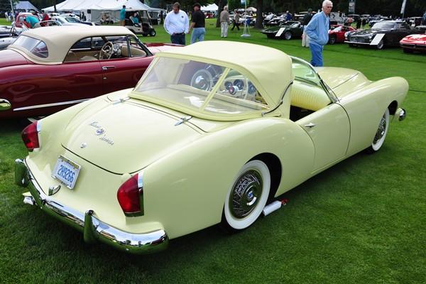 1954 Kaiser-Darrin Roadster Berine Aaron right rear