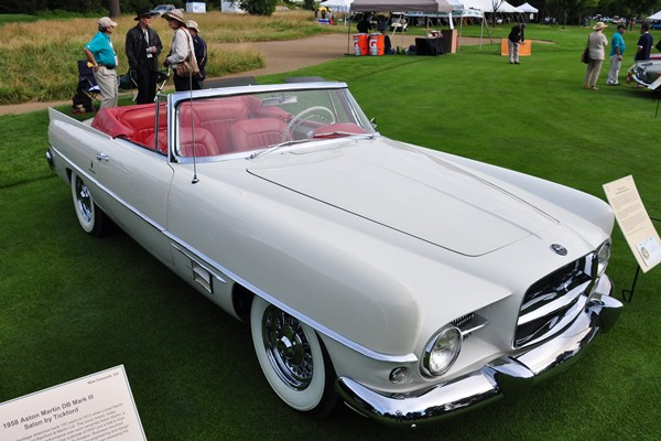 1957 Dual Ghia Convertible Neal and Lois Porter