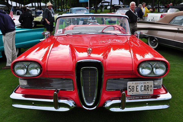1958 Edsel Pacer Convertible Herb Wiese