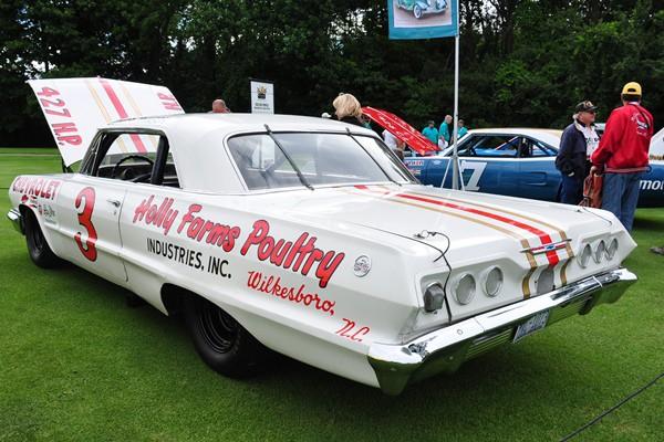 1963 Chevrolet Impala Junior Johnson NASCAR Racer RK Motors