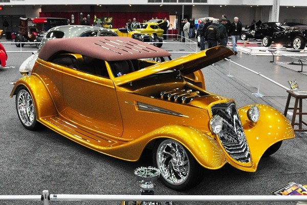 2010 Tammy Ray Gold Digger 1933 Ford Phaeton