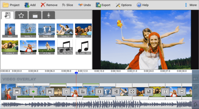 NCH VideoPad Video Editor Professional mac