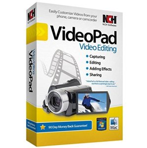 NCH VideoPad Video Editor Professional