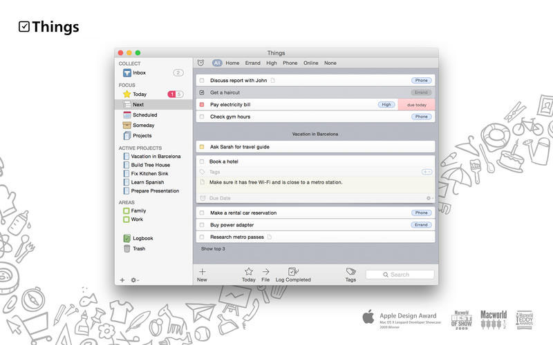 Things mac