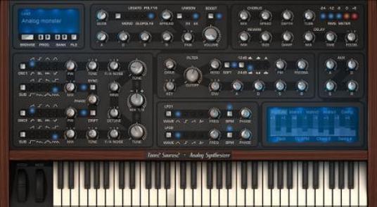 Tone2 Saurus mac
