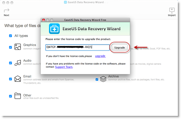 EaseUS Data Recovery Wizard Pro mac