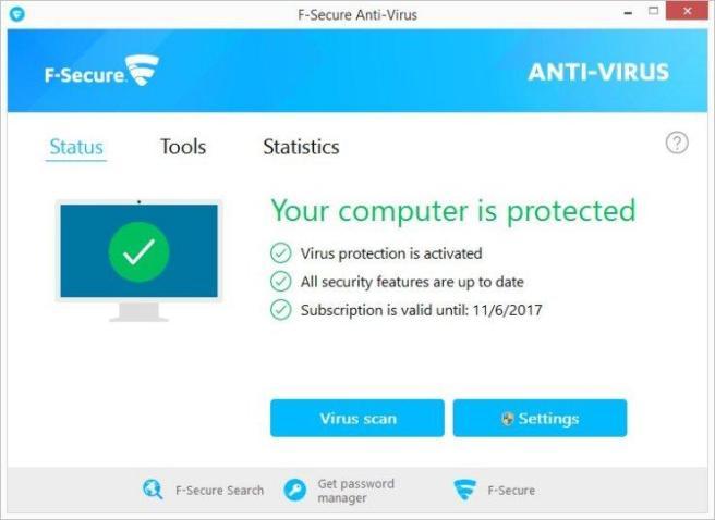 F-Secure Antivirus mac