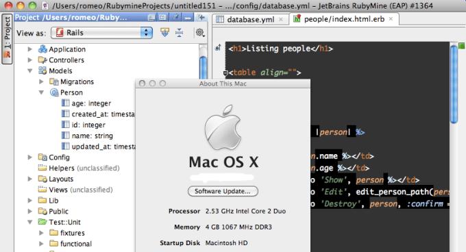 RubyMine mac