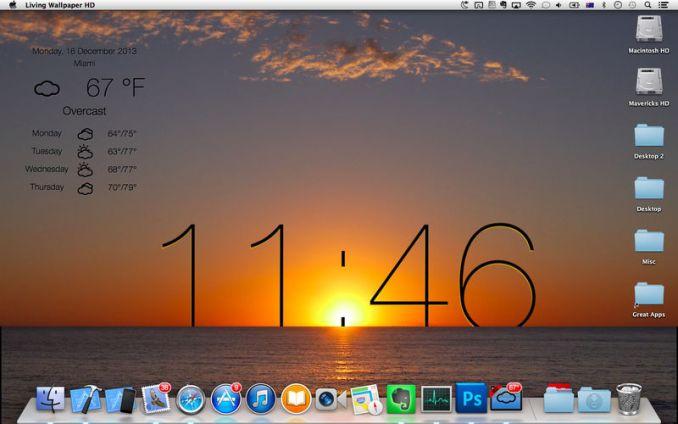 Live Wallpaper HD mac