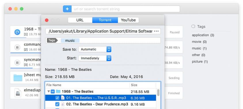 Torrent Client mac