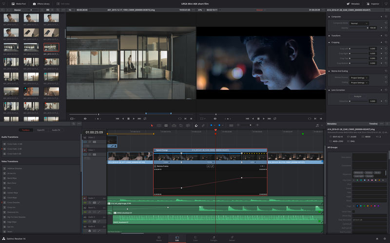 DaVinci Resolve Studio mac