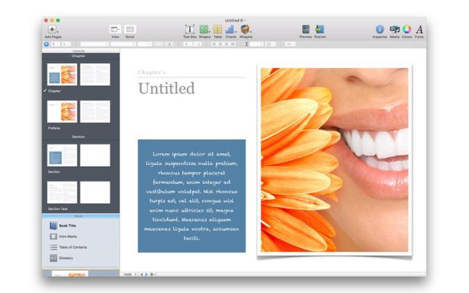 Design Books Author Templates mac
