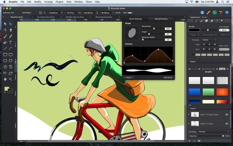 Graphics mac