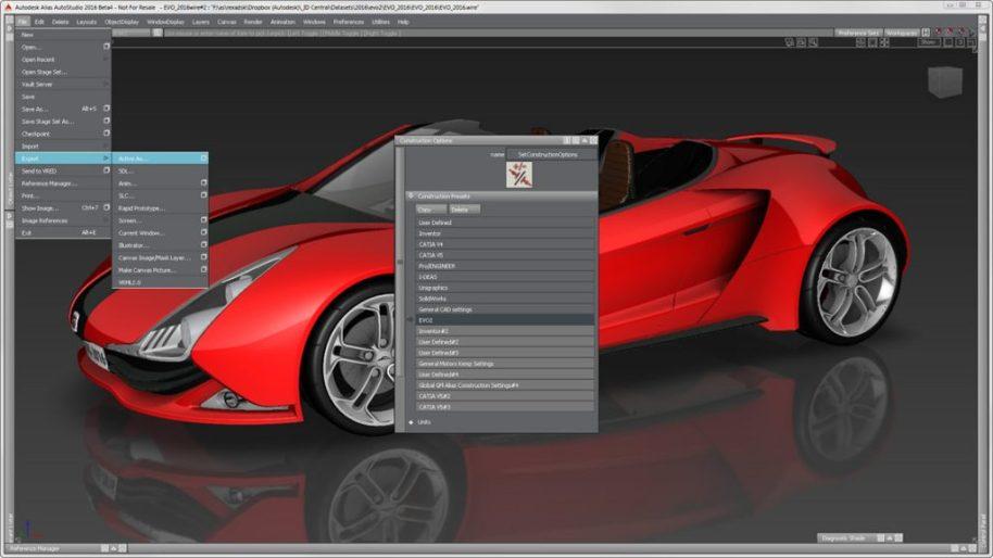 Autodesk Alias AutoStudio mac
