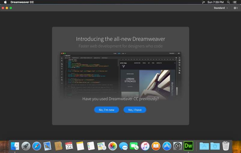 Adobe Dreamweaver CC mac