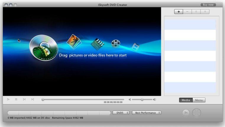 iSkysoft DVD Creator mac