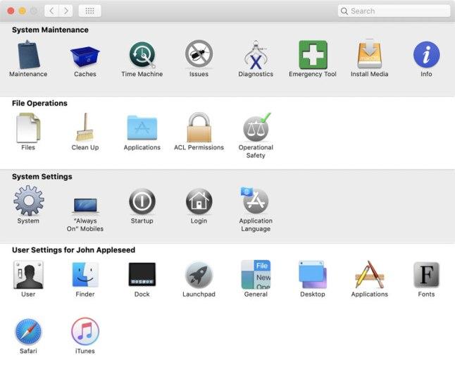 TinkerTool System mac