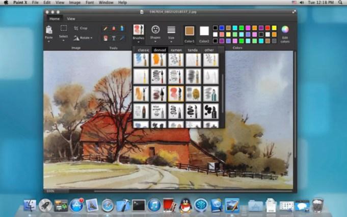 Paint X mac