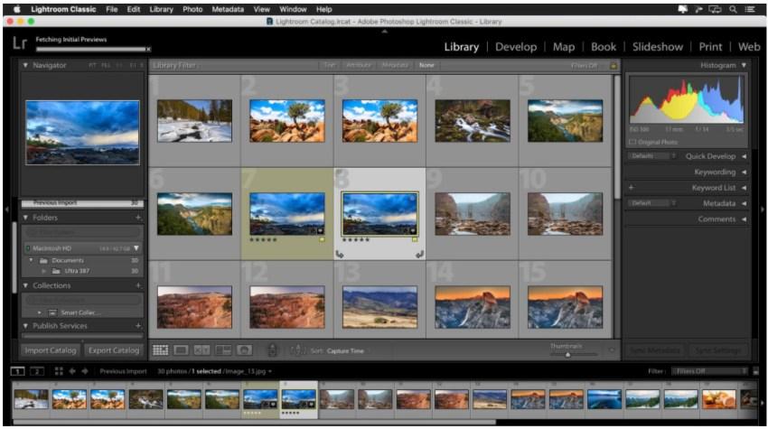 Adobe Lightroom Classic Mac