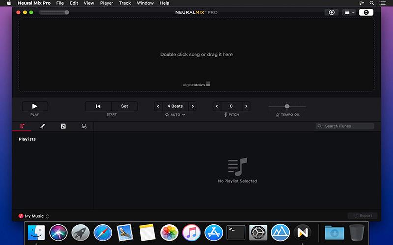 Algoriddim Neural Mix Pro Mac