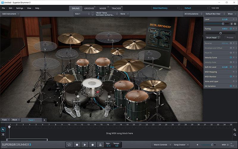 ToonTrack Superior Drummer Mac
