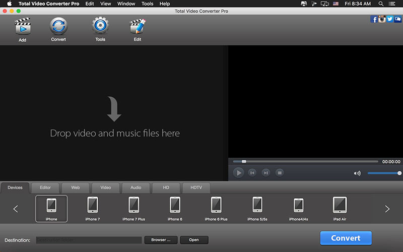 Total Video Converter for mac