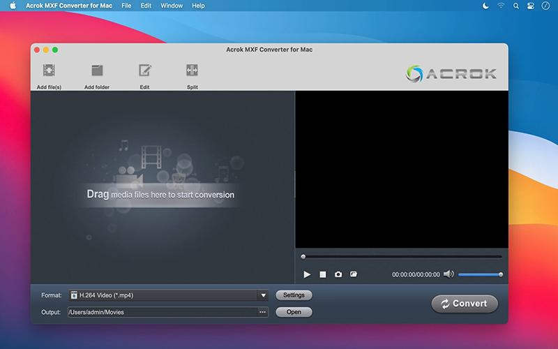 Acrok MXF Converter Mac